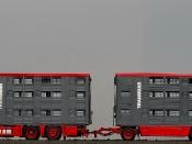 FINKL Viehtransporter Hängerzug