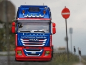 IVECO Stralis AS II mit Krone Containerauflieger