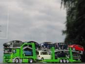Actros Autotransporter