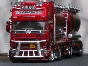 Scania Silo-Hängerzug nach Mika Auvinen Vorbild
